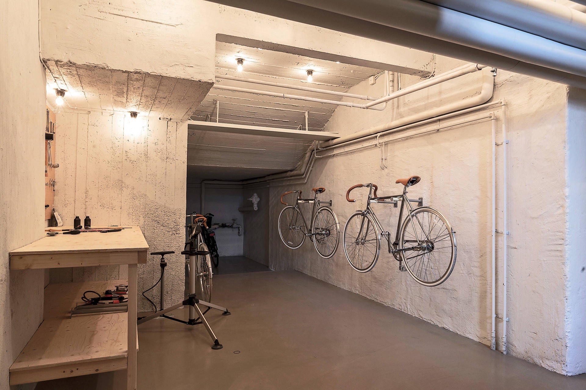 общая велосипедная комната
