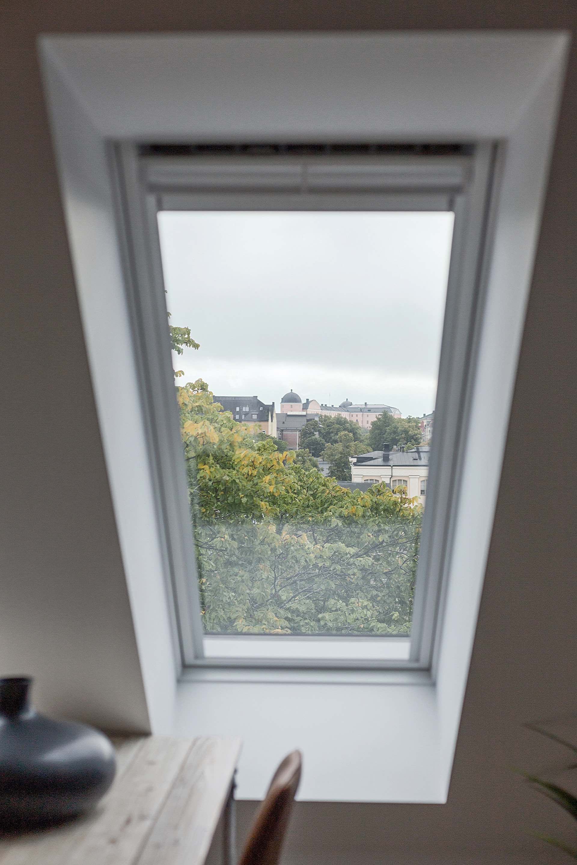 мансарда окно