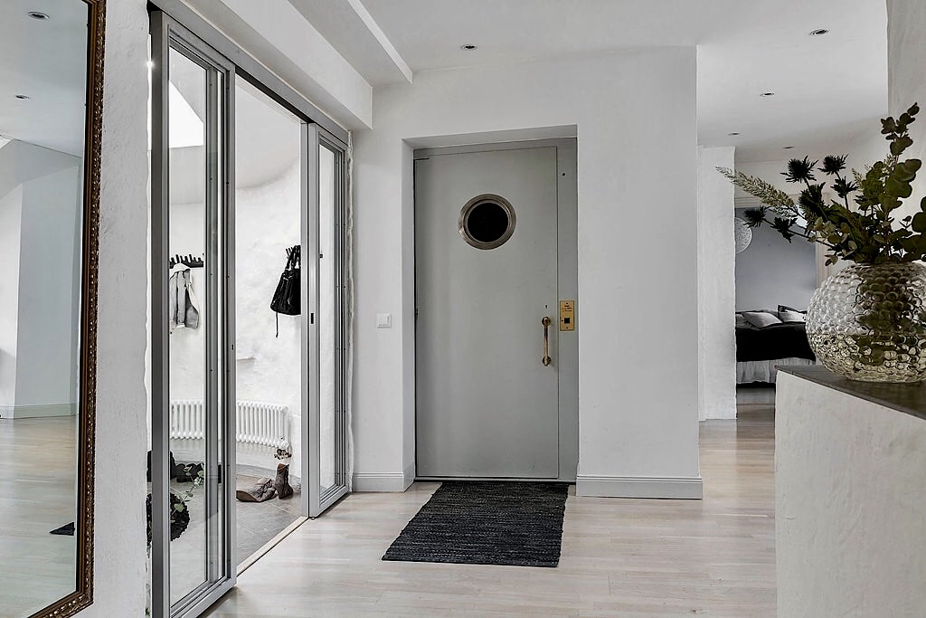 зеркало входная дверь раздвижные стеклянные двери