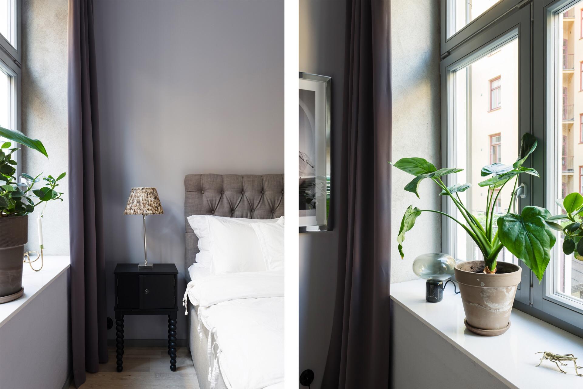 спальня окно подоконник
