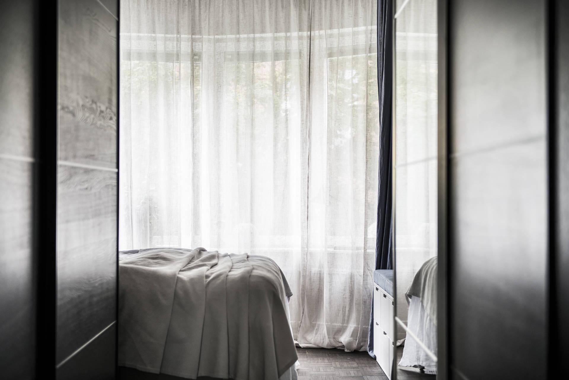 встроенный шкаф купе спальня