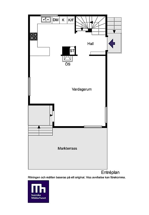 планировка загородного дома