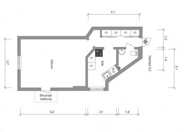 планировка-однокомнатная-квартира-33квм