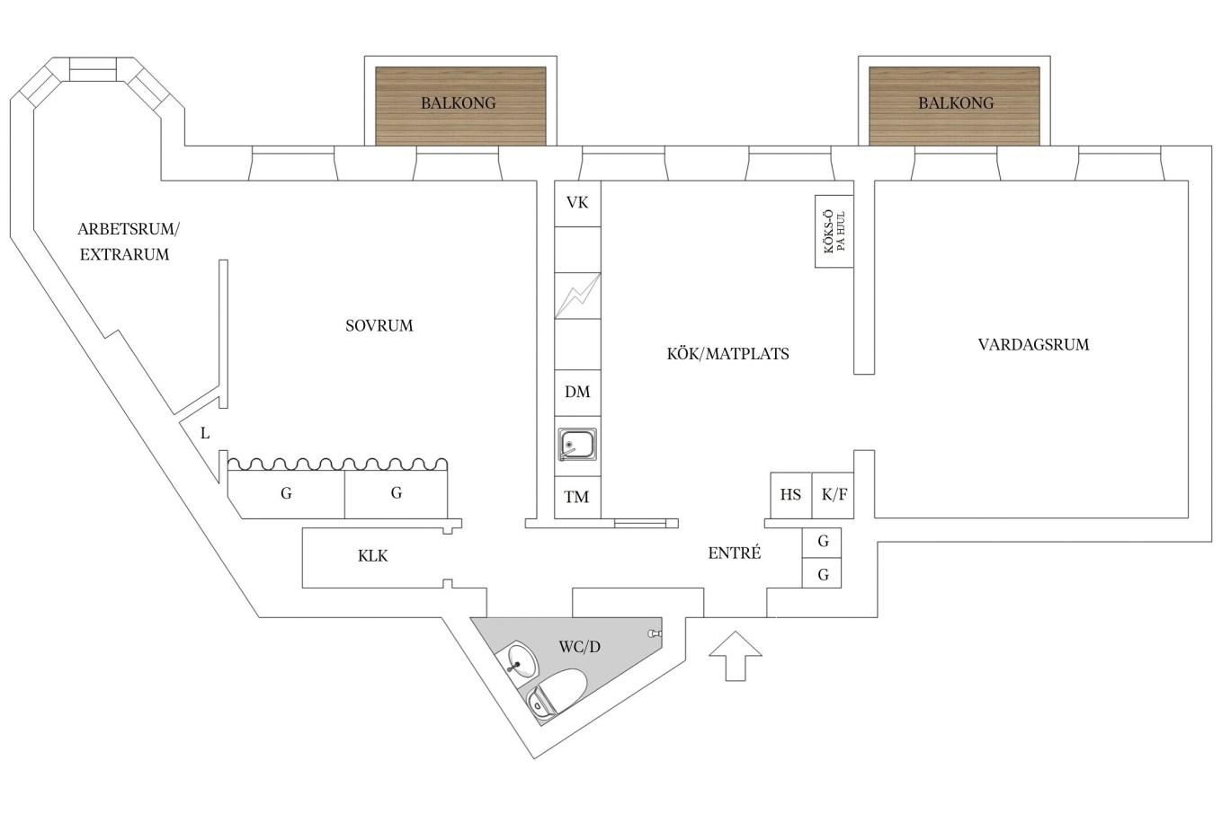 планировка-трехкомнатная-квартира-91квм
