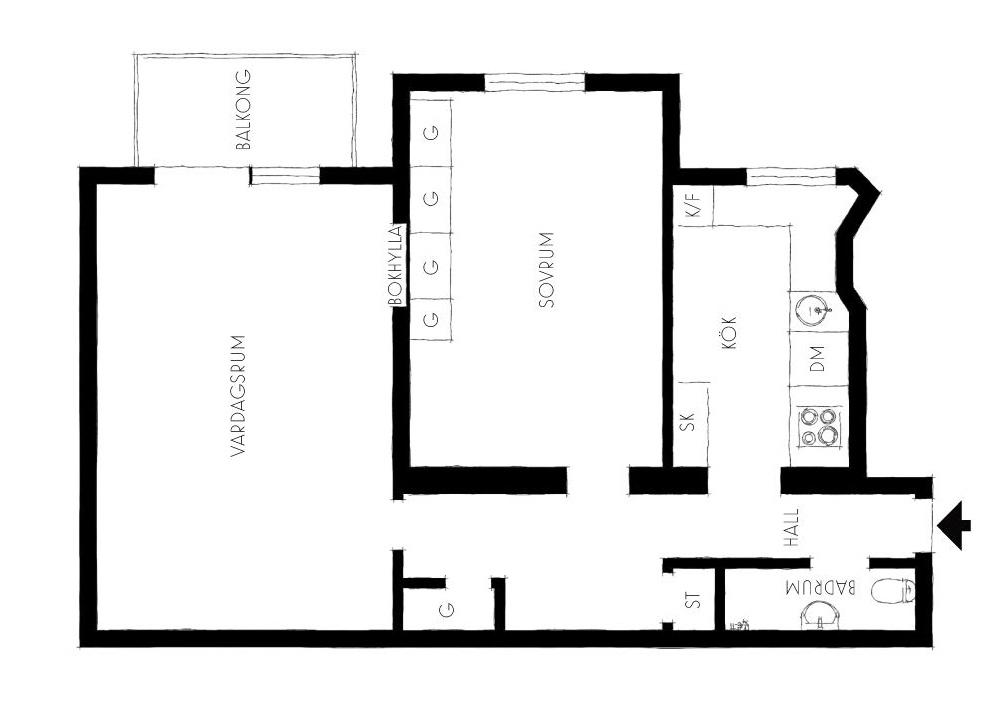 планировка-квартира-57-квм
