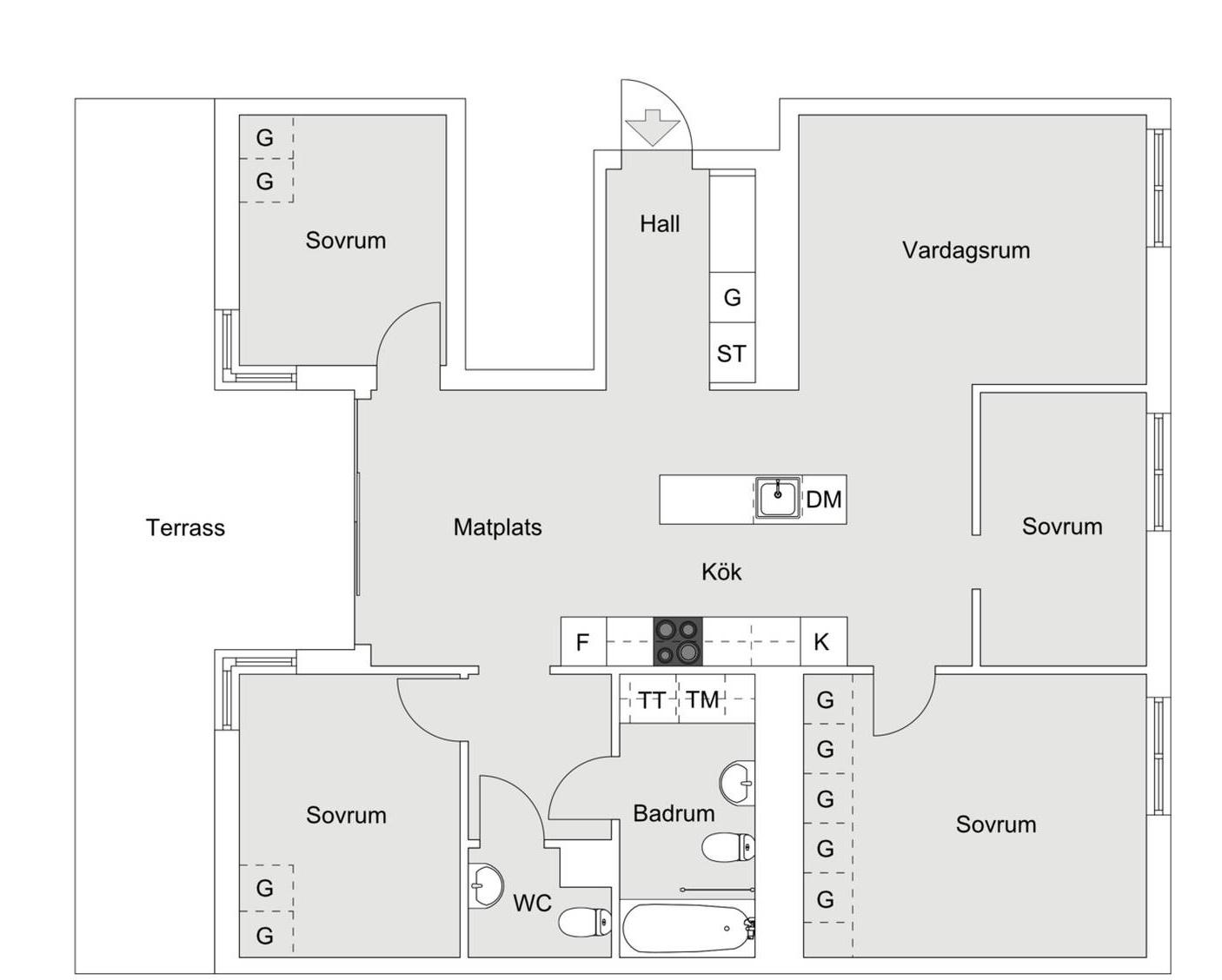 планировка-квартира-104-квм