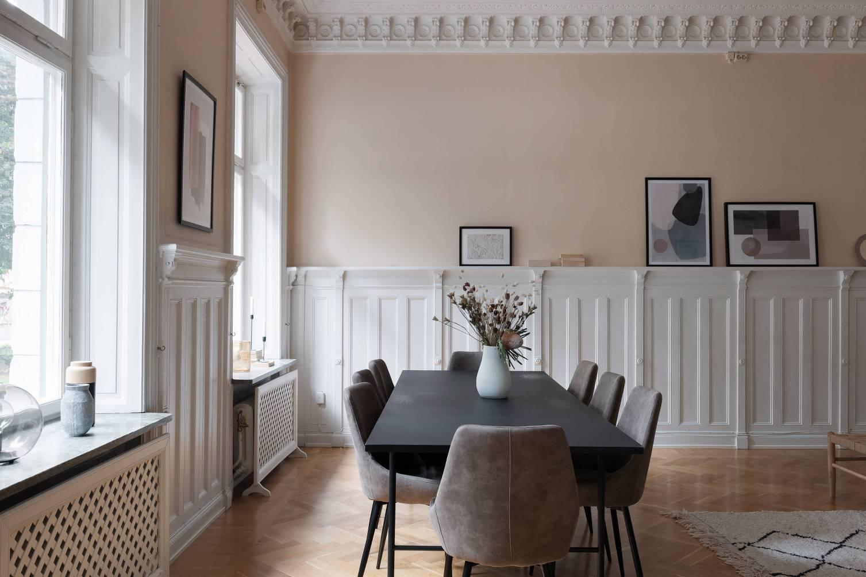 гостиная обеденный стол