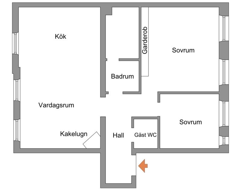планировка квартиры