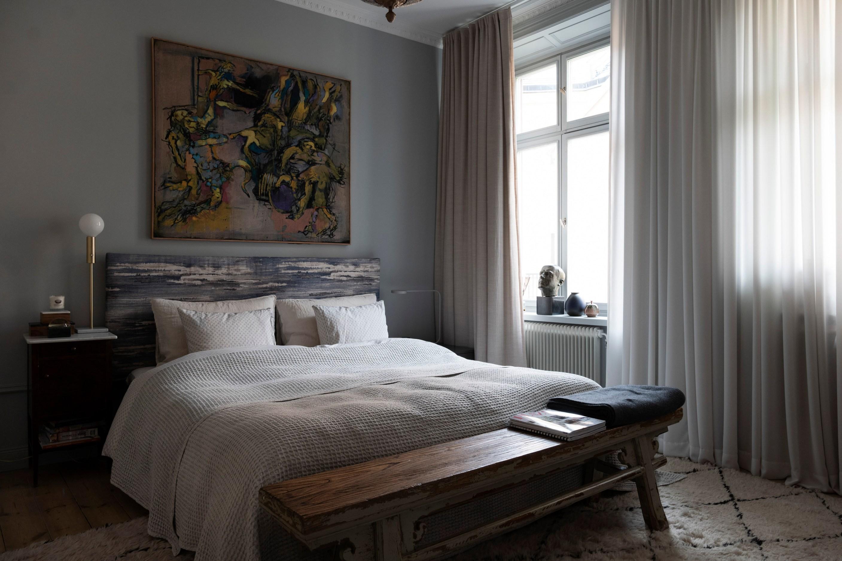спальня лавка скамья кровать