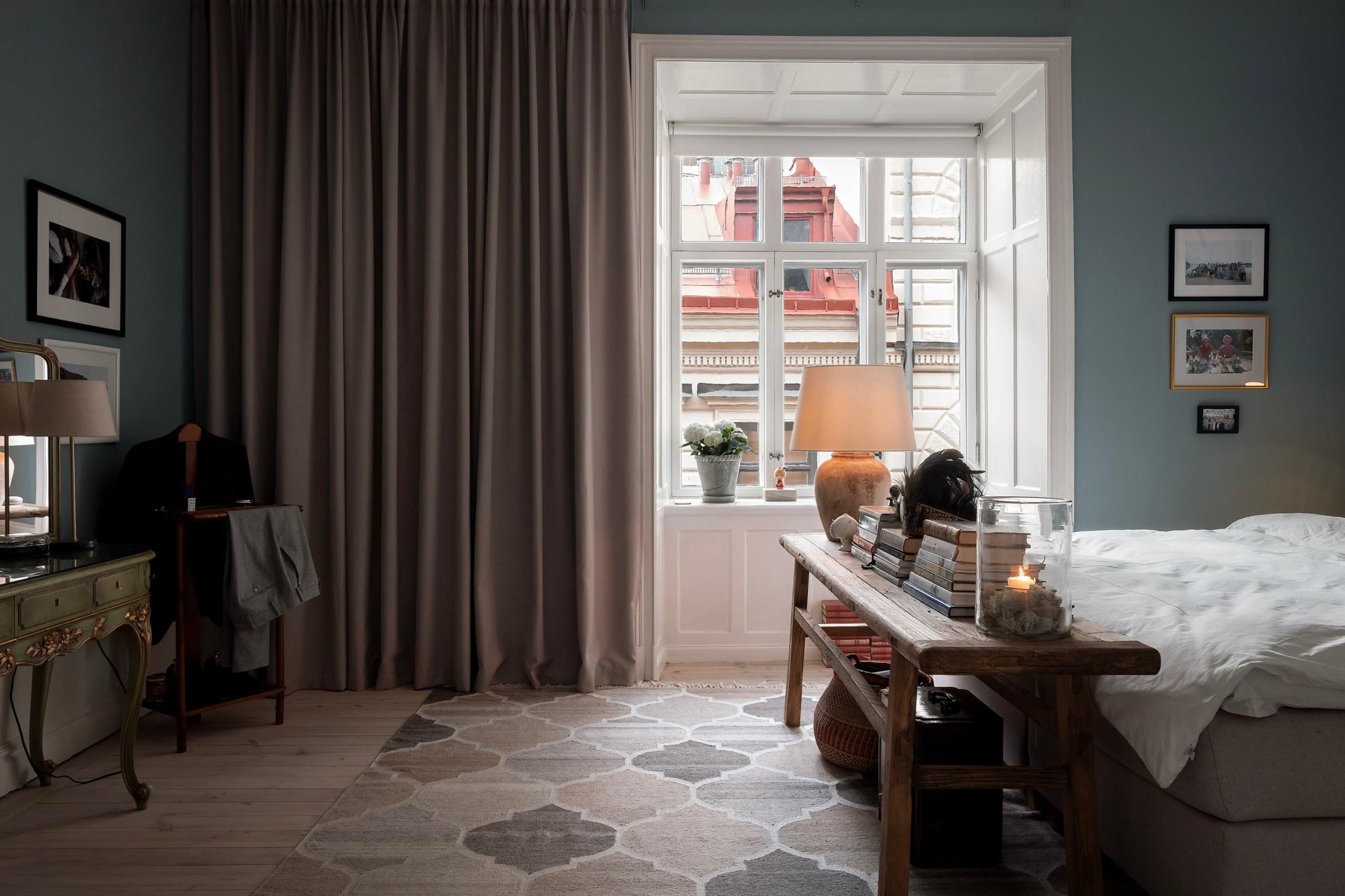 спальня окно