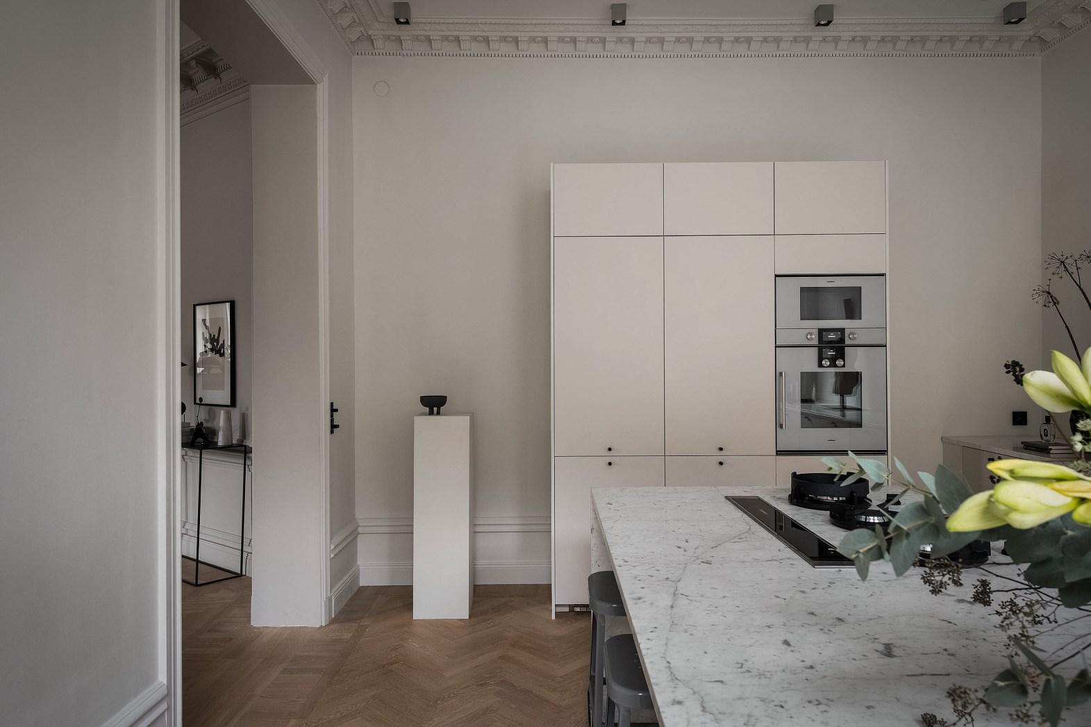 кухонная мебель встроенная техника