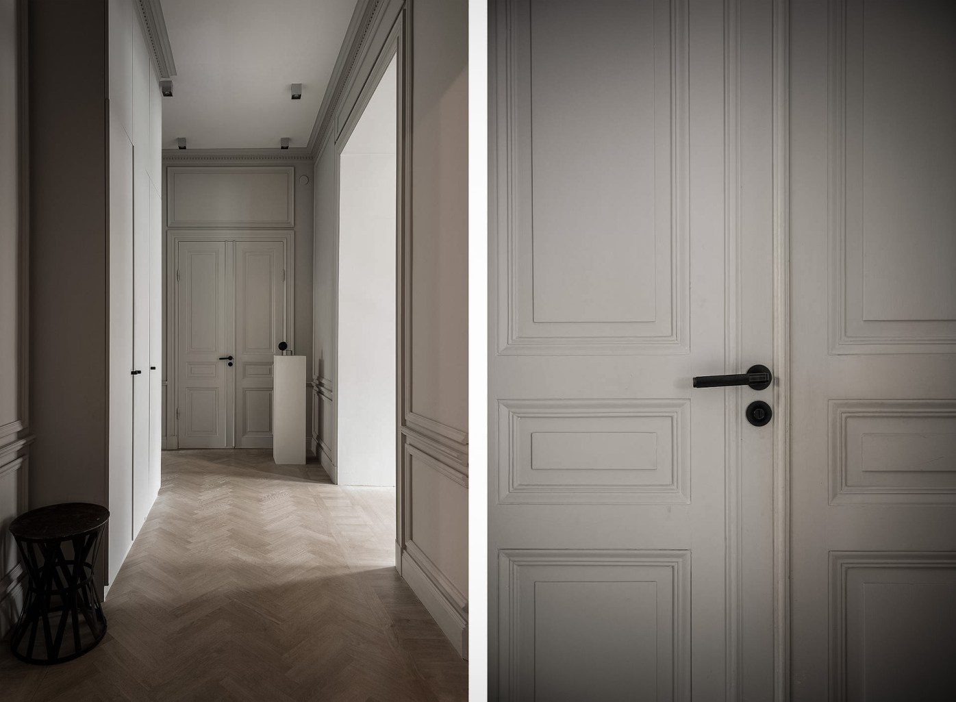 коридор двери