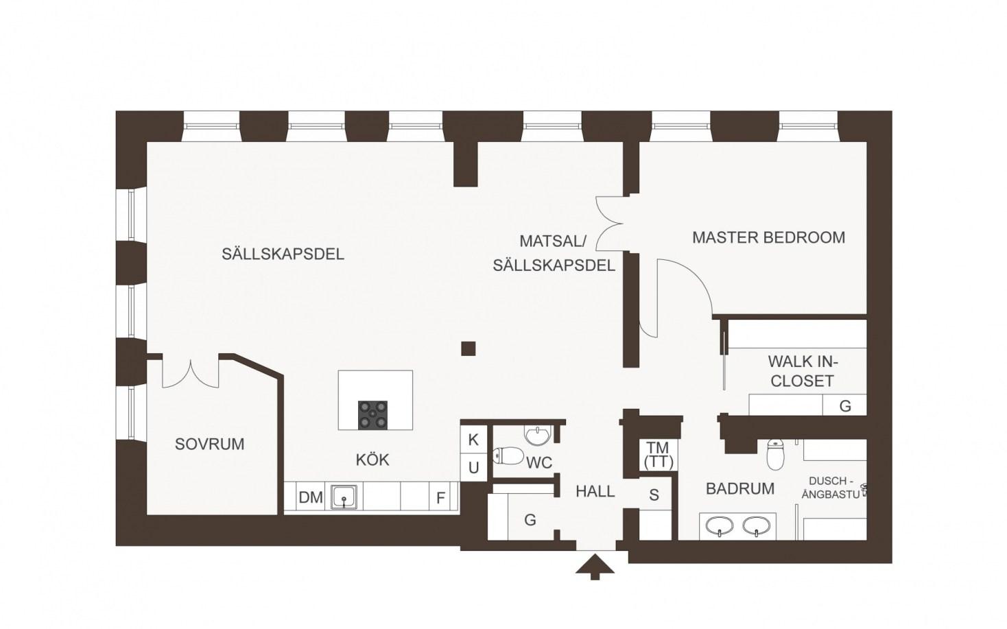 планировка квартиры 128 квм