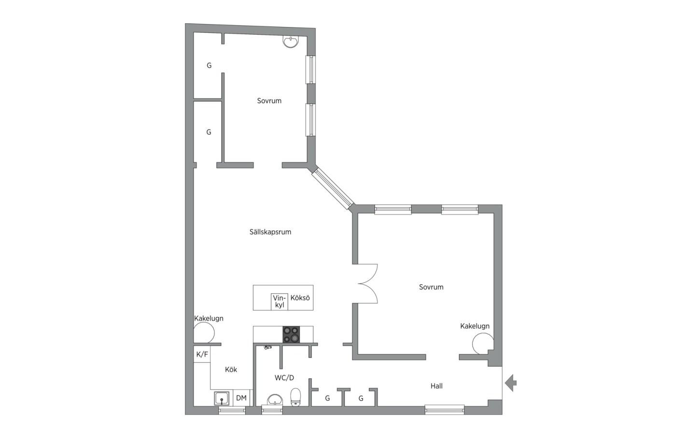 планировка квартиры 110 квм