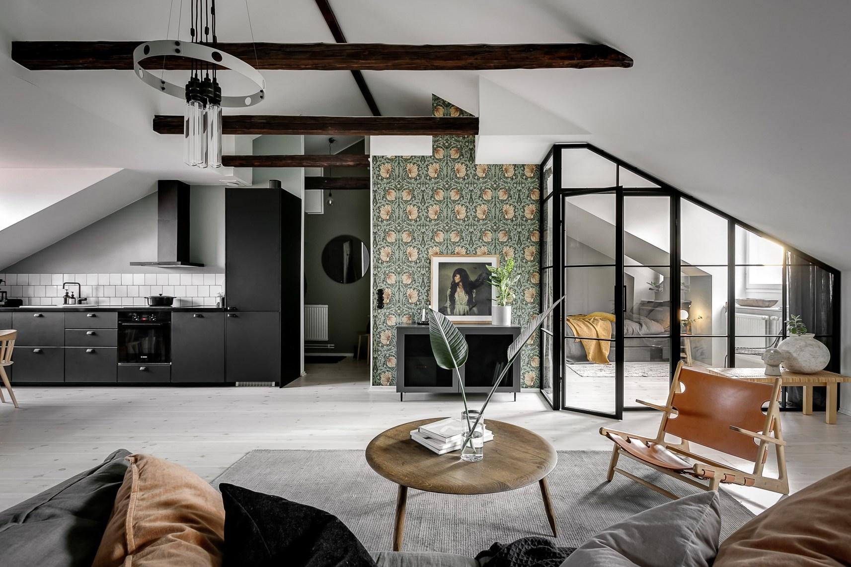 Квартира мансарда 75 квм 8