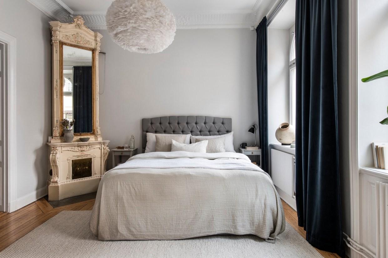 изразцовая печь спальня