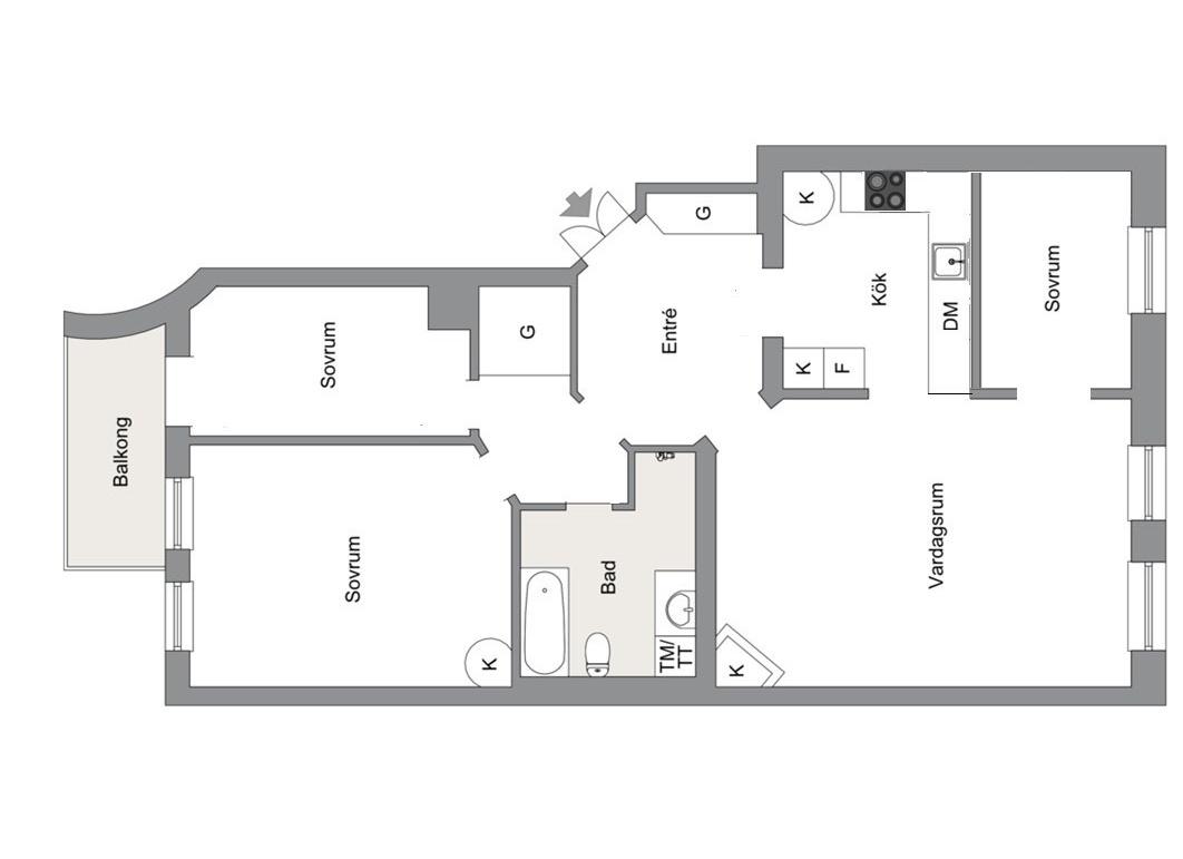 планировка квартира 97 квм