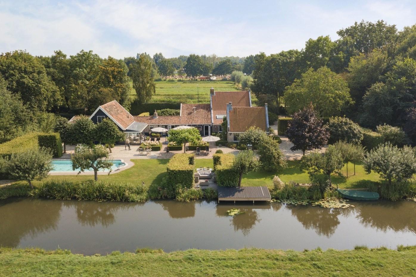 дом в нидерландах участок ландшафт