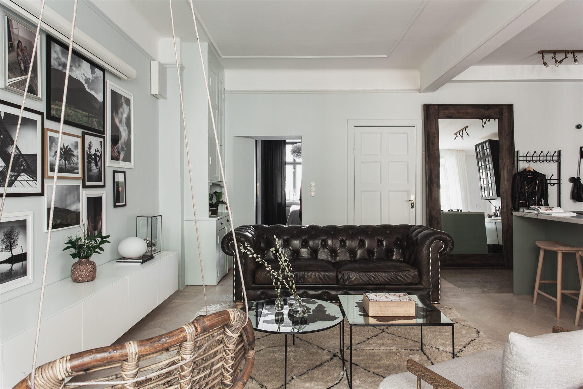 квартира 67 квм гостиная диван