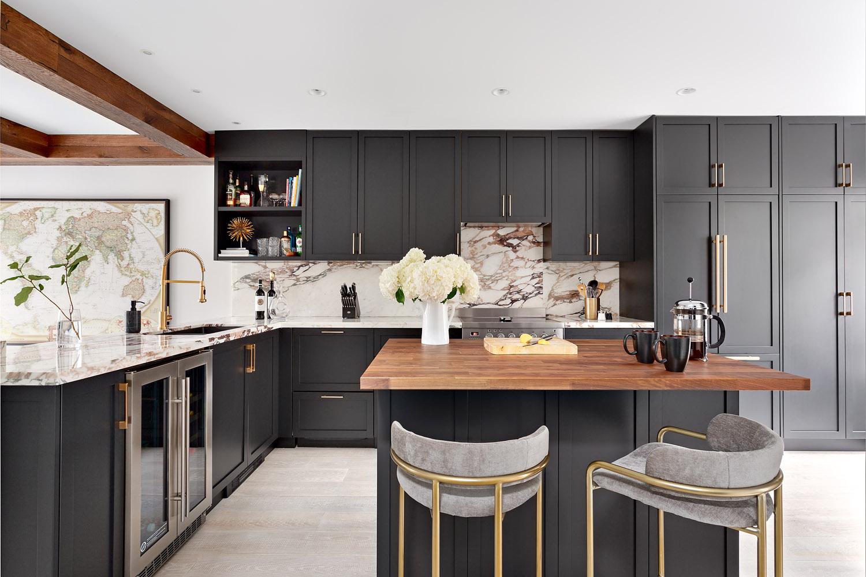таунхаус в канаде кухня мебель