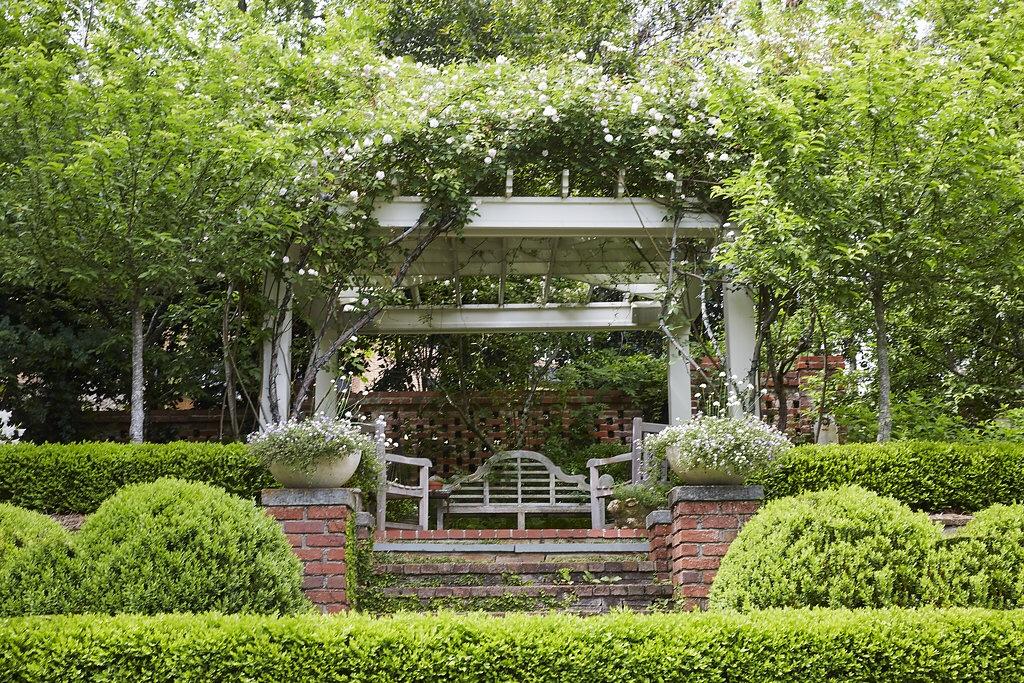 2 terrace pergola garden