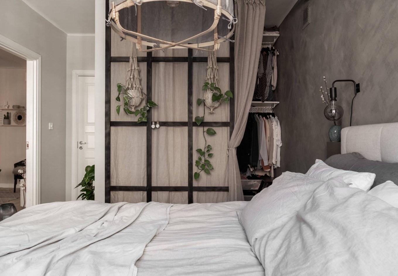bedroom wardrobe partition