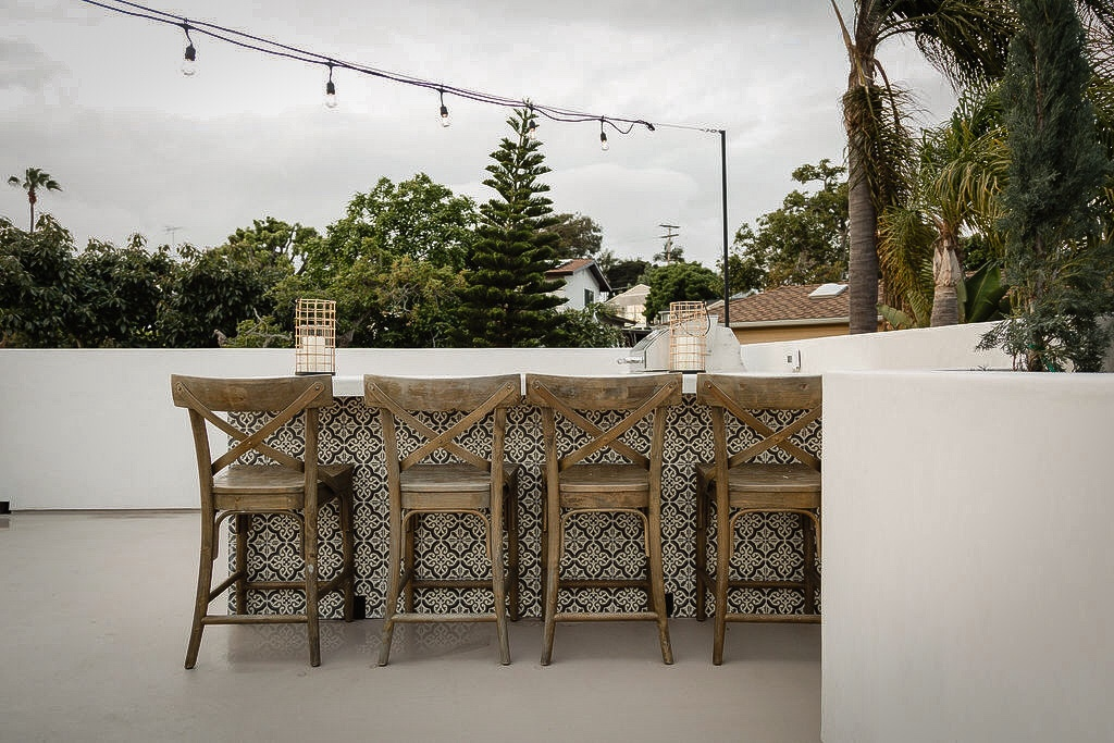 garage rooftop deck chairs