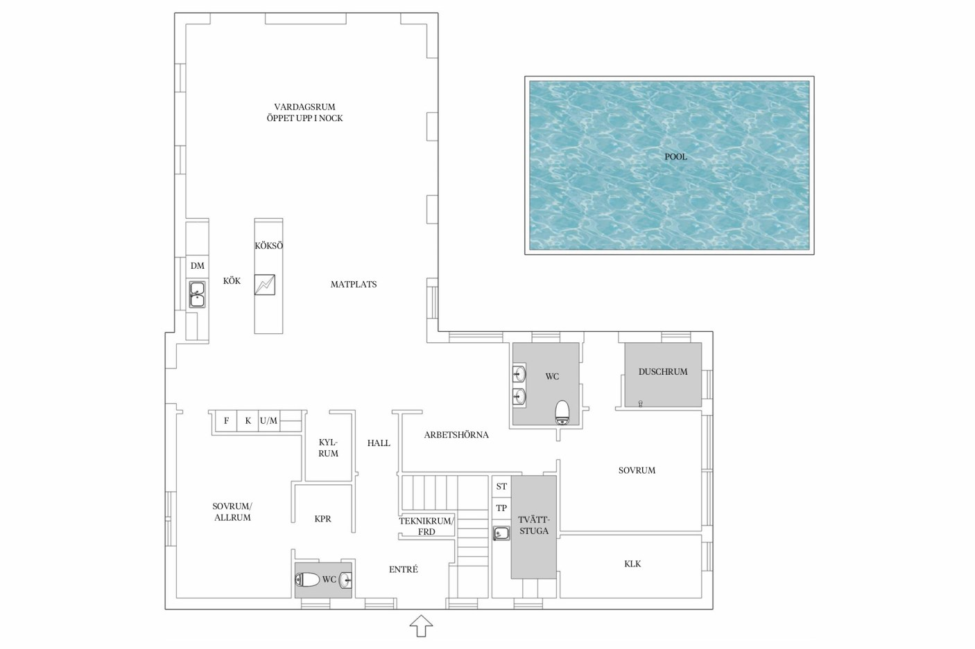house 282 sqm floor plan 1
