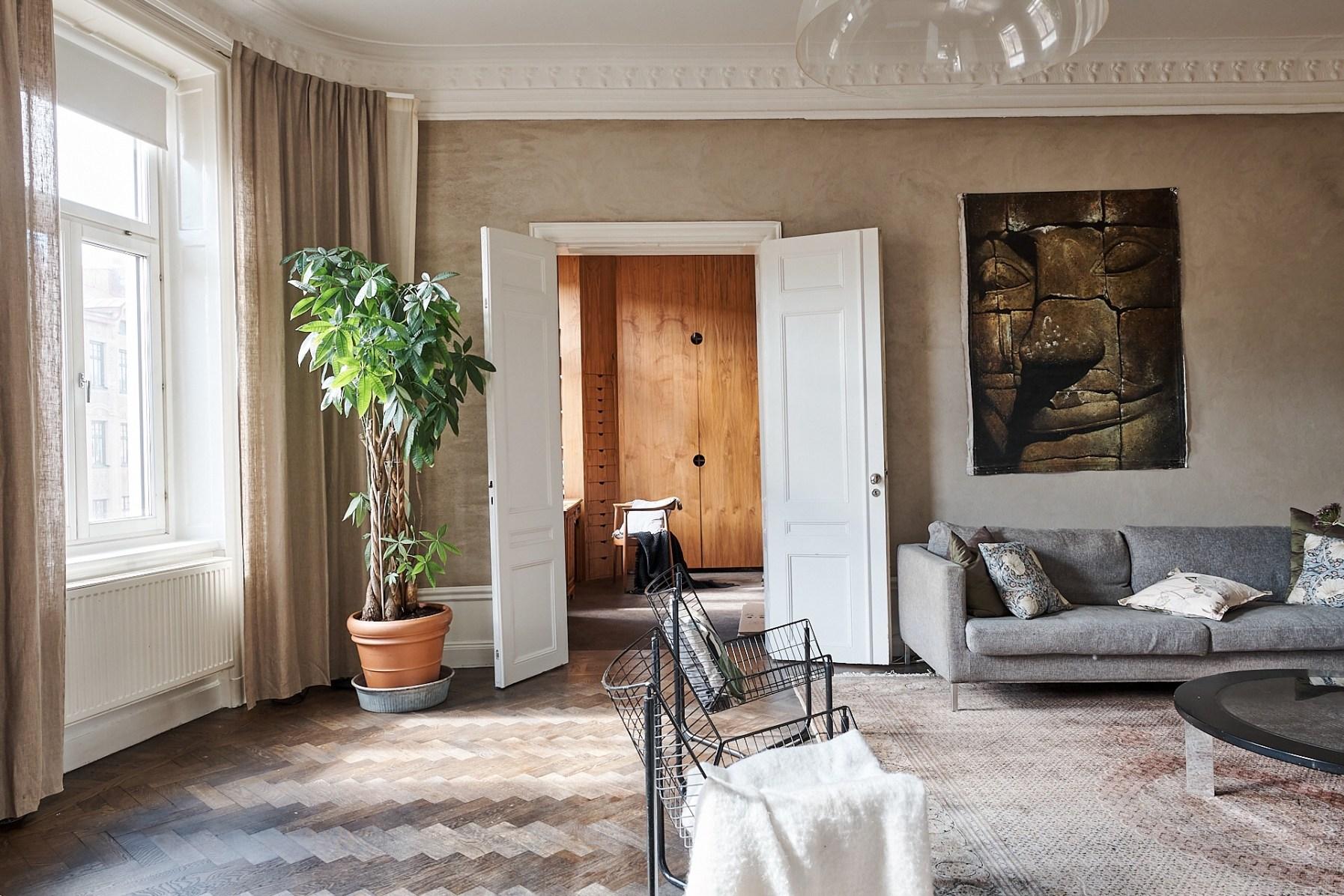 living room doorway
