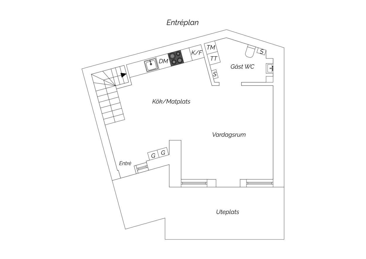 33305 88 sqm apartment floor plan