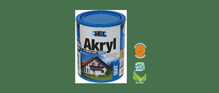 Акрилна боя HET- водна основа