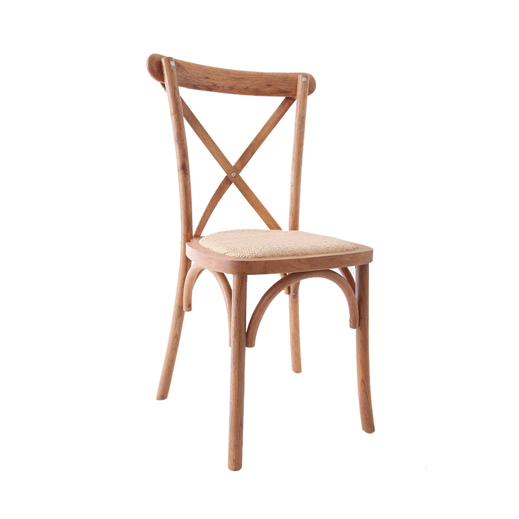 Chaises crossback