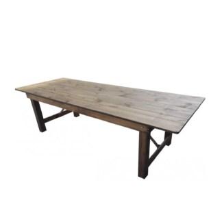 Tables bois rectangulaires