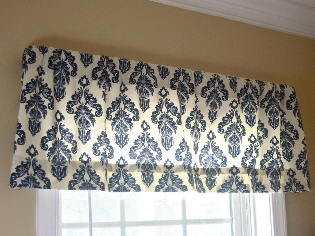 Contemporary Valances For Kitchen Window
