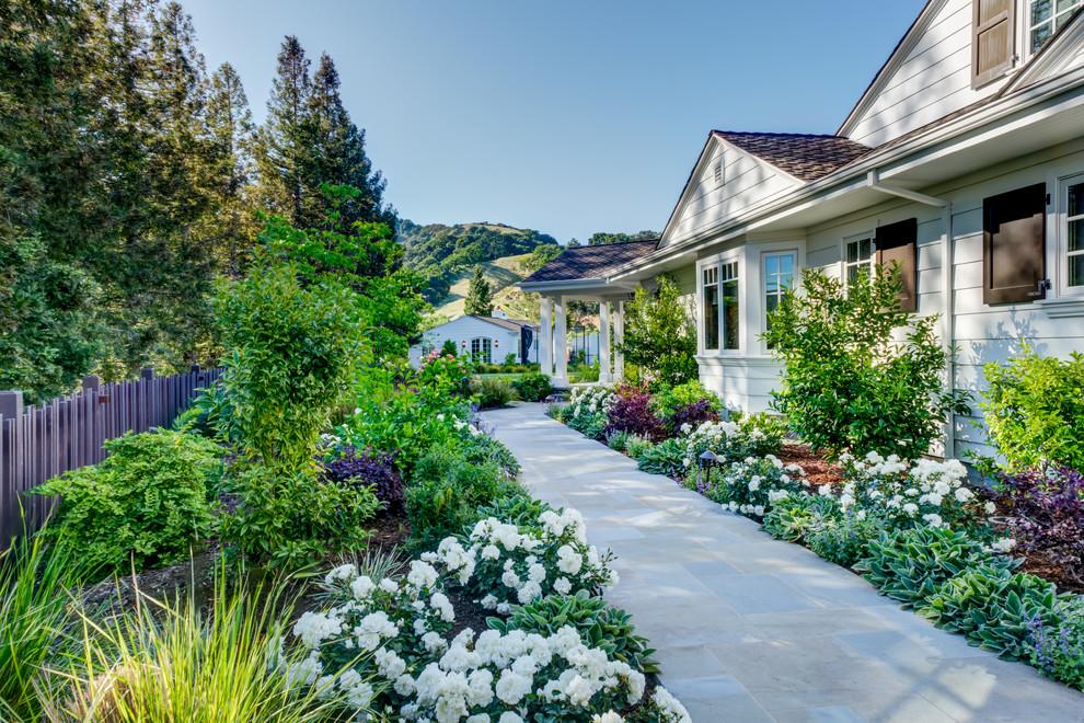 breathtaking farmhouse landscape design