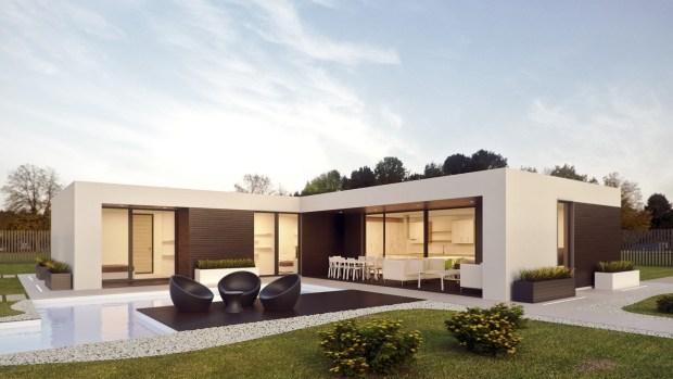 Full Design Of Modern Minimalist House