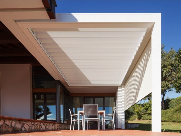 Sunscreen roof aluminum chairs terrace roof