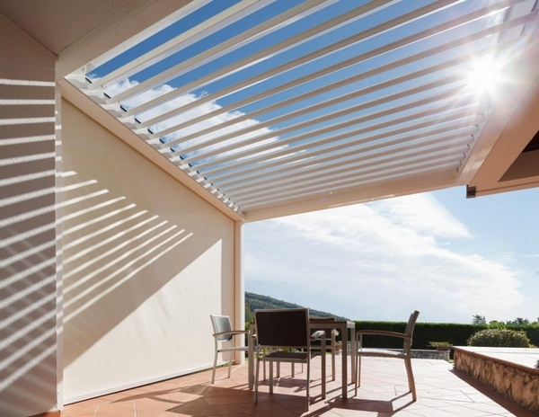 Sunscreen roof modern ideas