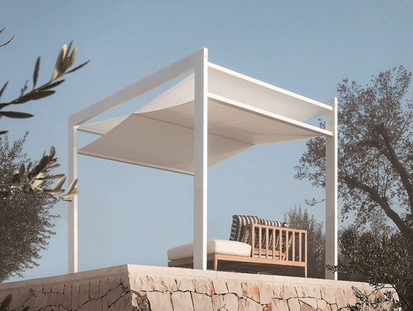 Sunscreen roof of ideas Awning white Frigerio