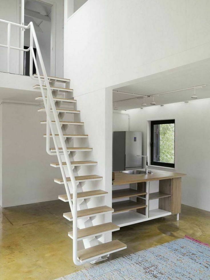 30 Spiral Staircase Alternative For Small Space   Ladder Design For Small Space   Stairway   Glass   Modern   Two Story House Stair   Limited Space