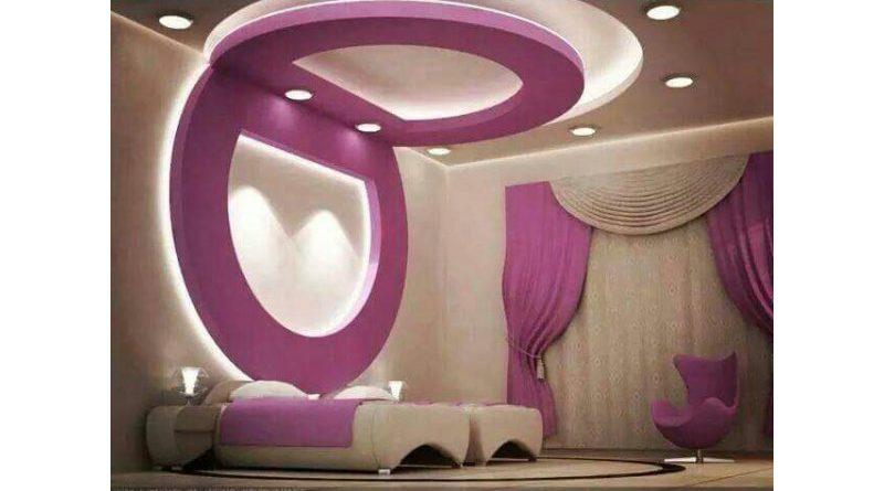 اسقف جبس غرف نوم ناعمهgypsum Ceiling For Soft Bedroom قصر