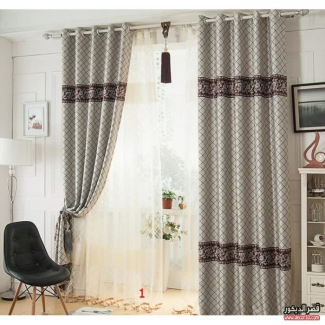 موديلات ستائر إيطالية جديدة New Italian Curtain Models قصر الديكور