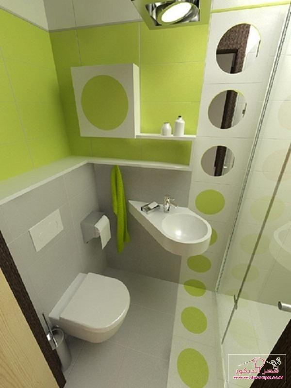تصاميم حمامات صغيرة وبسيطة30 فكرة لديكورات حمامات صغيرة