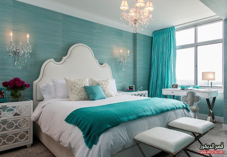 الوان دهانات غرف النوم للعرائس وكيفية اختيار الألوان