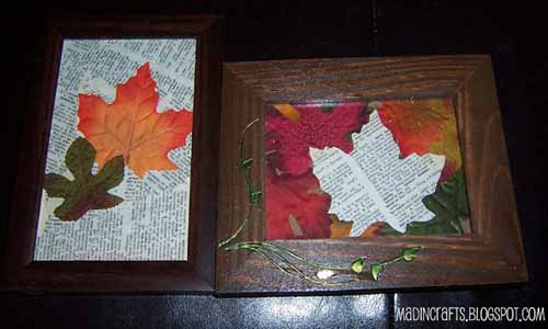 Making Fall Leaves Of Paper, Festive Fall Decorating Ideas