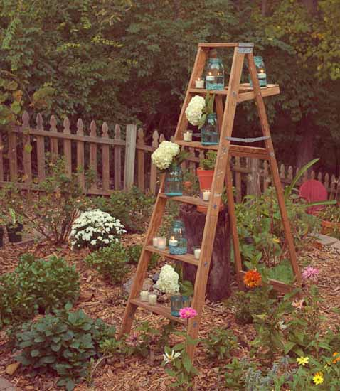 Home Made Ladder Stands