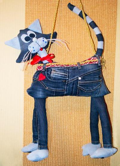 Recycling Old Jeans For Kids Toys And Decorative