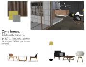 Propuesta de mobiliario para la zona baja