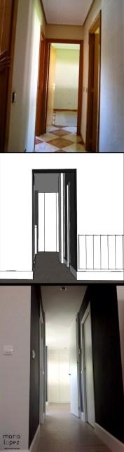 REFORMA INTEGRAL VIVENDA. decoraCCion.wordpress.com pasillo 1