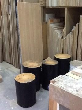 mesa auxiliar mesa tronco stump mesuta de café 58
